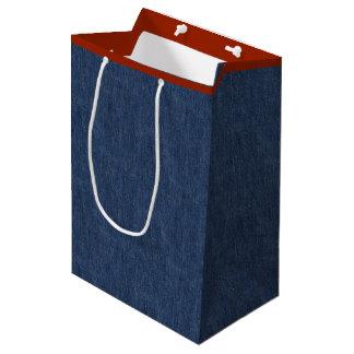 Tejanos legendarios bolsa de regalo mediana