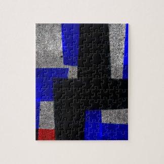 Tejas abstractas puzzle