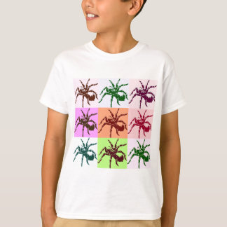 Tejas asustadizas del Tarantula de Halloween Camiseta