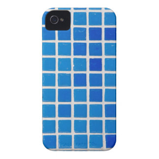Tejas azules iPhone 4 carcasas