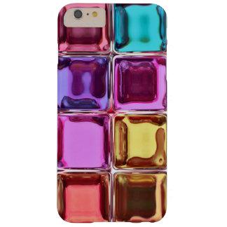 Tejas de cristal coloridas funda barely there iPhone 6 plus