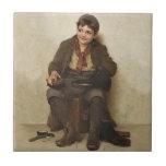 Tejas de los niños del vintage y del Victorian