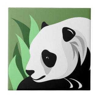 Tejas del arte de la panda gigante