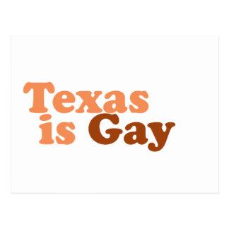 Tejas es gay postal