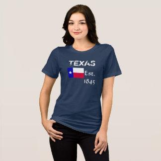 Tejas Est 1845 -- Camiseta