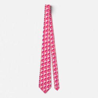 Tejas juguetonas del color del lápiz labial del corbata personalizada
