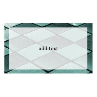 tejas o suelo de la pizarra tarjetas de visita