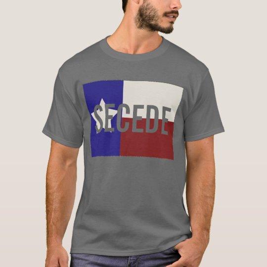 Tejas oscuro SECEDE la camiseta