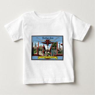 Tejas. Saludos de los productos de Tejas Camiseta
