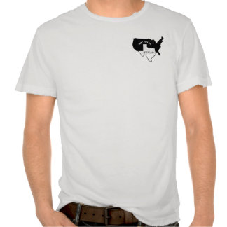 Tejas… Su un estado de ánimo Camisetas