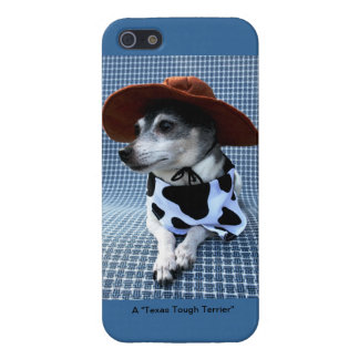 Tejas Terrier duro iPhone 5 Carcasas