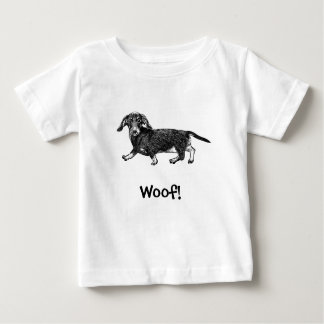 ¡Tejido! Camiseta del perro, Dachshund