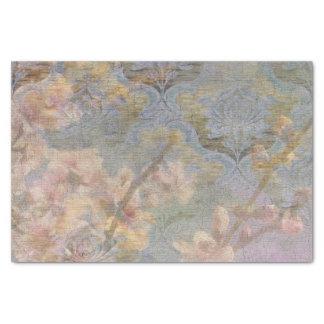 Tejido del regalo de la tapicería del flor de la papel de seda