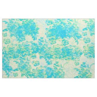 tejido flores tela