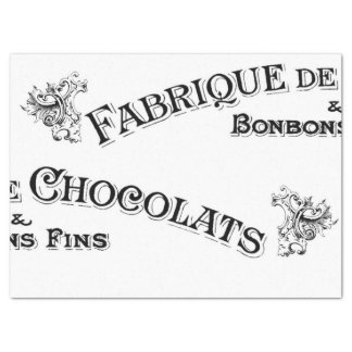 Tejido francés de la muestra papel de seda