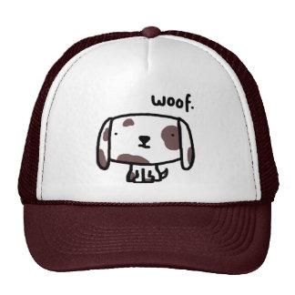 Tejido. Gorra del perro