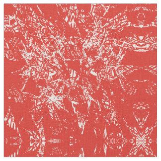 tejido rojo tela