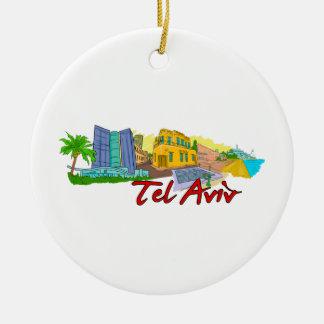 Tel Aviv - Israel.png Ornamentos Para Reyes Magos