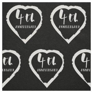 Tela 4to Lino del aniversario de boda