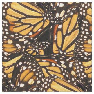 Tela abstracta animal del modelo de la mariposa de