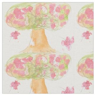 Tela Árbol en la floración