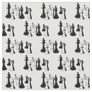 Tela Arte #2 del vintage de los pedazos de ajedrez