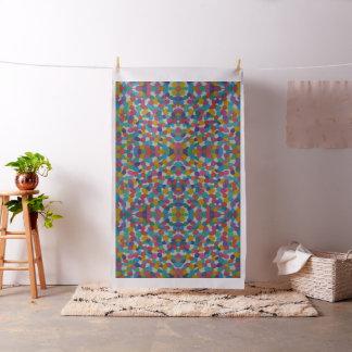 Tela artsy colorida del modelo de puntos