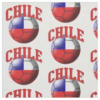 Tela Bandera del modelo del balón de fútbol de Chile