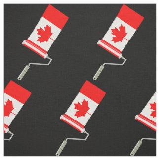 Tela Bandera del rodillo de pintura de Canadá
