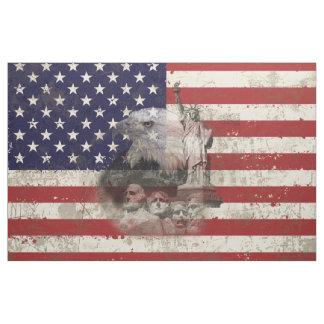 Tela Bandera y símbolos de Estados Unidos ID155