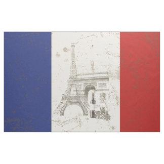 Tela Bandera y símbolos de Francia ID156