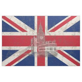 Tela Bandera y símbolos de Gran Bretaña ID154