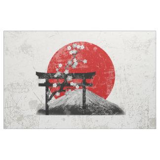 Tela Bandera y símbolos de Japón ID153