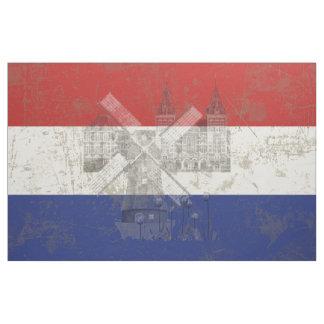 Tela Bandera y símbolos de los Países Bajos V2 ID151