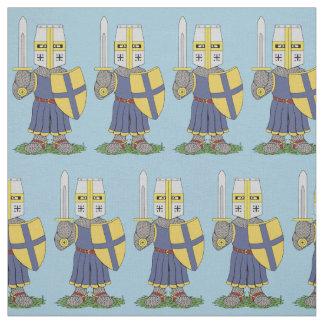 Tela Caballero medieval lindo