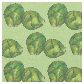 Tela Coles de Bruselas verdes Foodie vegetal