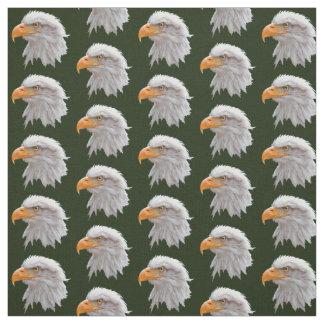 Tela de Alaska de Eagle calvo (verde oscuro)