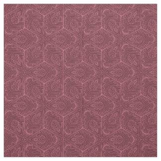 Tela de algodón de Borgoña