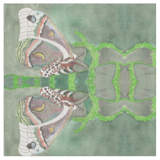 Tela de algodón peinada con la mariposa