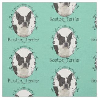 Tela de Boston Terrier