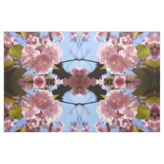 Tela de la flor de cerezo