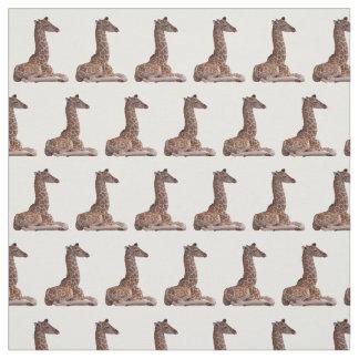 Tela de la jirafa del bebé (elija el color)