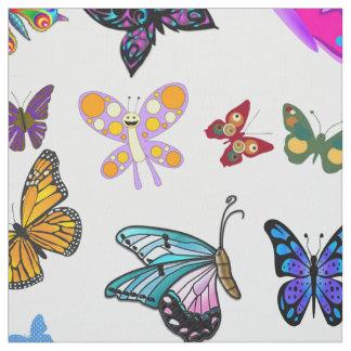 Tela de la mariposa