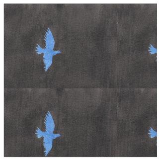 Tela de la paloma del azul