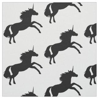 Tela de la silueta del unicornio