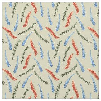 Tela de la tela cruzada de algodón de las ramas