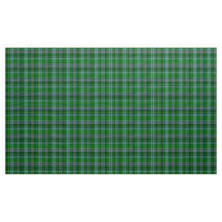 Tela de la tela escocesa del verde azul y del