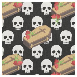 tela de los emojis del ataúd del cráneo