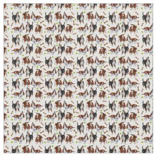 Tela de los perros del grito Basset Hound