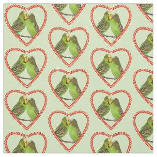 Tela del amor y de los besos (verde clara)